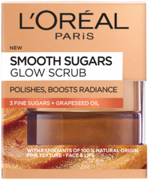 L'Oréal Sugar Scrub Glow Grape Seed 50 ml