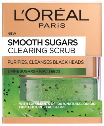 L'Oréal Sugar Scrub Clearing Kiwi Seeds 50 ml