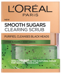 L'Oréal Paris Sugar Scrub Clearing Kiwi Seeds 50 ml