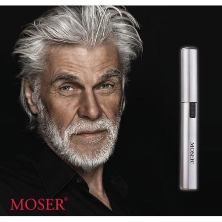 Moser Næse/Ørehårstrimmer MicroCut