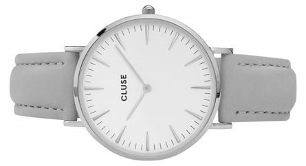 Cluse La Bohème Dameur Silver CL18215 White/Grey