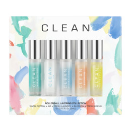 Clean 5 piece 5 ml. EDP Rollerball 5 ml