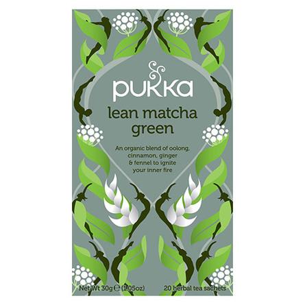 Pukka Lean Matcha Green Te Øko 20 br