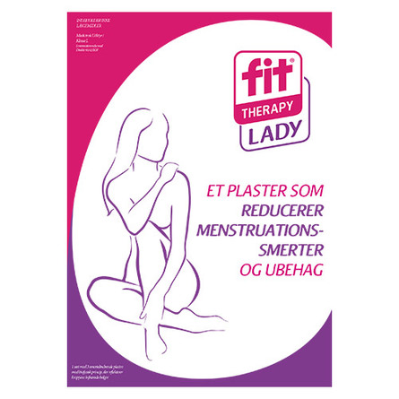 Menstruationskit ladyfit 2 sæt smertelindrende