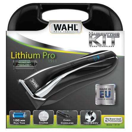 Wahl Hårklipper Litium Pro LCD
