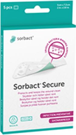 Sorbact Secure 5x7,2 cm 5 stk