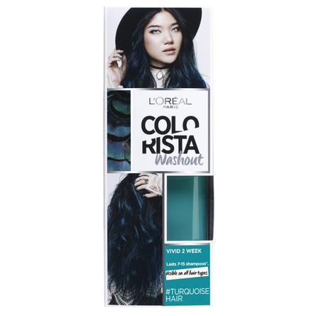 blå hårfarve matas