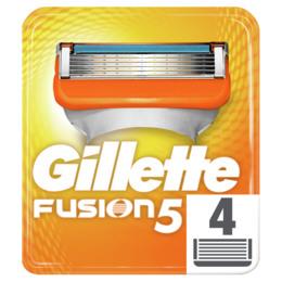 Gillette Fusion Barberblade Manuel 4stk