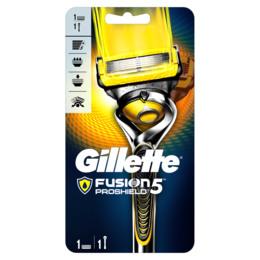 Gillette Fusion Proshield Gul Manuel skraber1 stk.