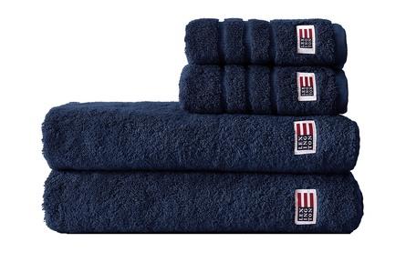 Lexington Håndklædepakke 4 stk. Blå