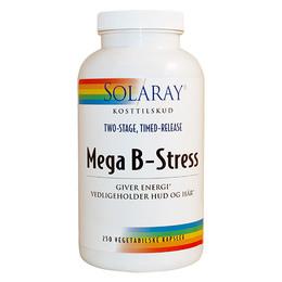 Solaray Mega B Stress 250 Kapsler