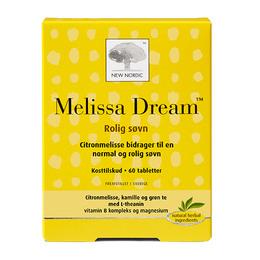 New Nordic Melissa Dream 60 tabl.