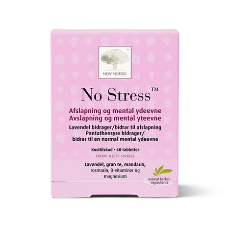 New Nordic No Stress™ 60 tabl.