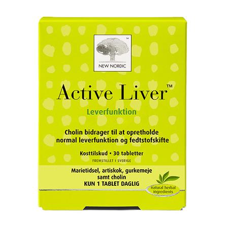 New Nordic Active Liver 30 tabl.