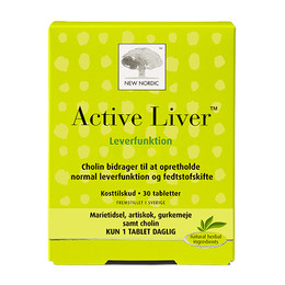 New Nordic Active Liver 30 tabl.