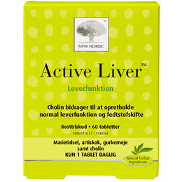 New Nordic Active Liver 60 tabl.