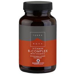 B-complex m vitamin C 50 kap