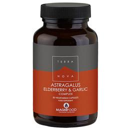 Terra Astragalus elderberry & garlic  50 50 kaps.