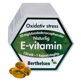 Berthelsen E-Vitamin 30 mg  150 kaps.