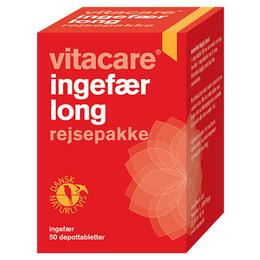 VitaCare Ingefær Long rejsepakke 50 depottabl.