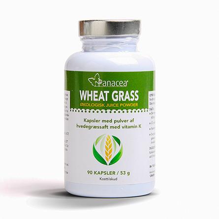 Panacea Wheat Grass Juice Kapsler Ø Raw Food 90 kap
