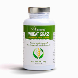 Wheat Grass Juice Kapsler Ø Raw Food 90 kap