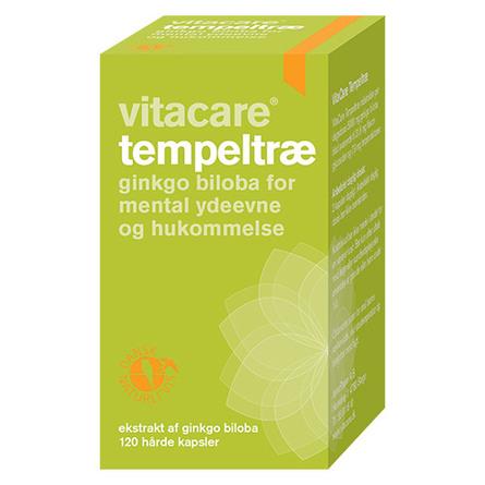 VitaCare Tempeltræ 120 kaps.