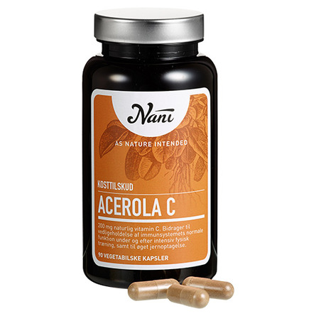 Acerola C-vitamin Nani 90 kap