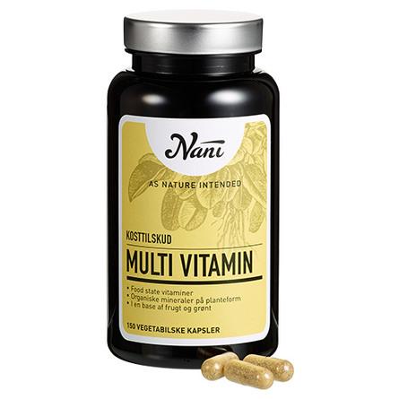 Multivitamin food state Nani 150 kap