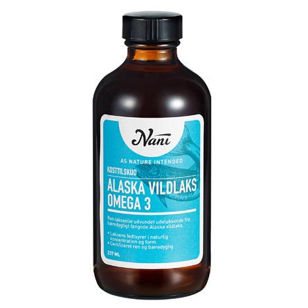 Nani Omega-3 - Alaska Vildlaks 237 ml.