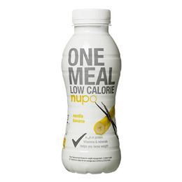 One meal vanilje & banan Nupo 330 ml