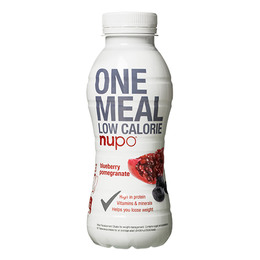 One meal blåbær & granatæble Nupo 330 ml