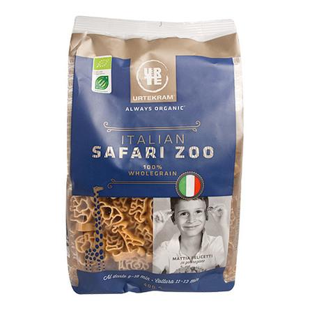 Fuldkornspasta safari dyr Ø 400 g