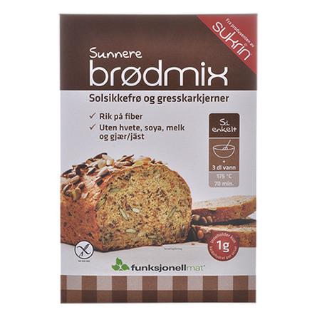 Sukrin Brødmix, glutenfri lowkarb