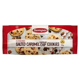 Semper Cookies m. saltet karamel & chokolade 150 g