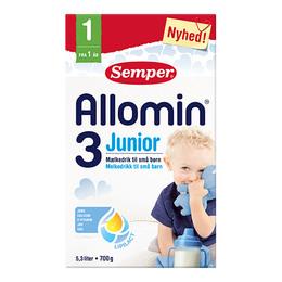 Allomin 3 junior tilskudsblanding fra 1 år 700 g