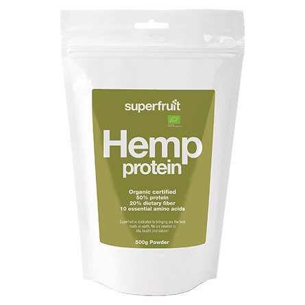 Hamp protein pulver (hemp powder) Superfru 500 g