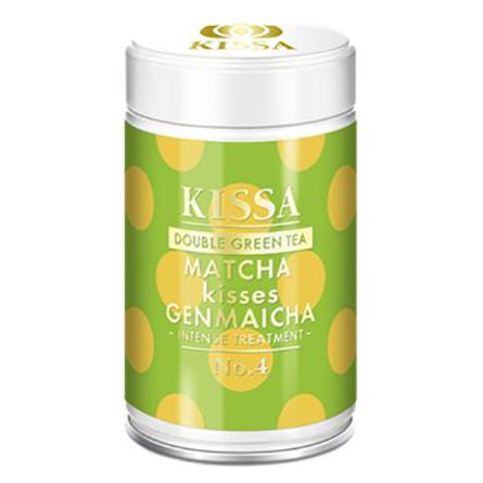 Kissa KISSA Matcha kisses Genmaicha  80 gr.