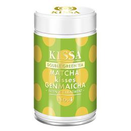 KISSA Matcha kisses Genmaicha matcha Ø 80 g