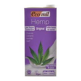 Ecomil Hampdrik m. agave u. sukker Ø 1 liter