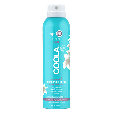 Coola Sport Continuous Spray Unscented SPF 50