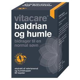 VitaCare Baldrian og Humle 60 kaps.