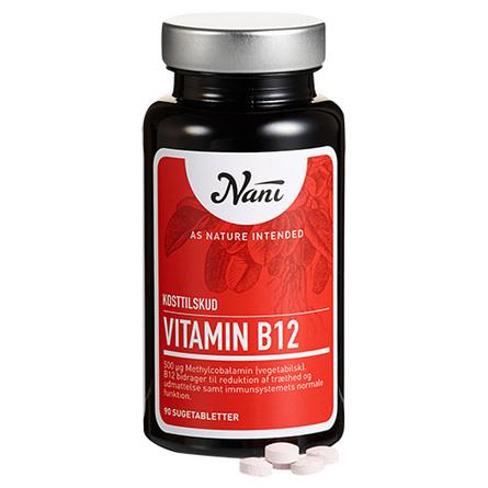 Nani Vitamin B12 90 tabl.