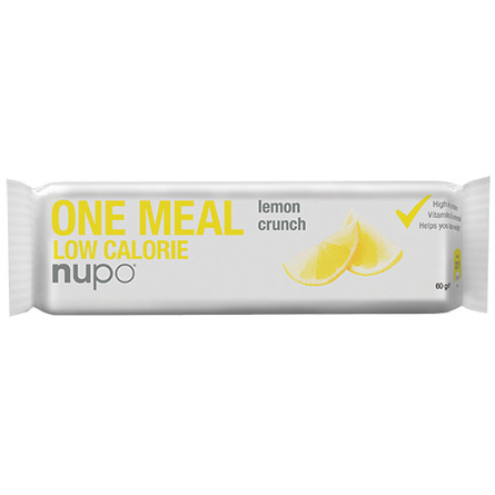 Nupo meal bar lemon crunch 60 g