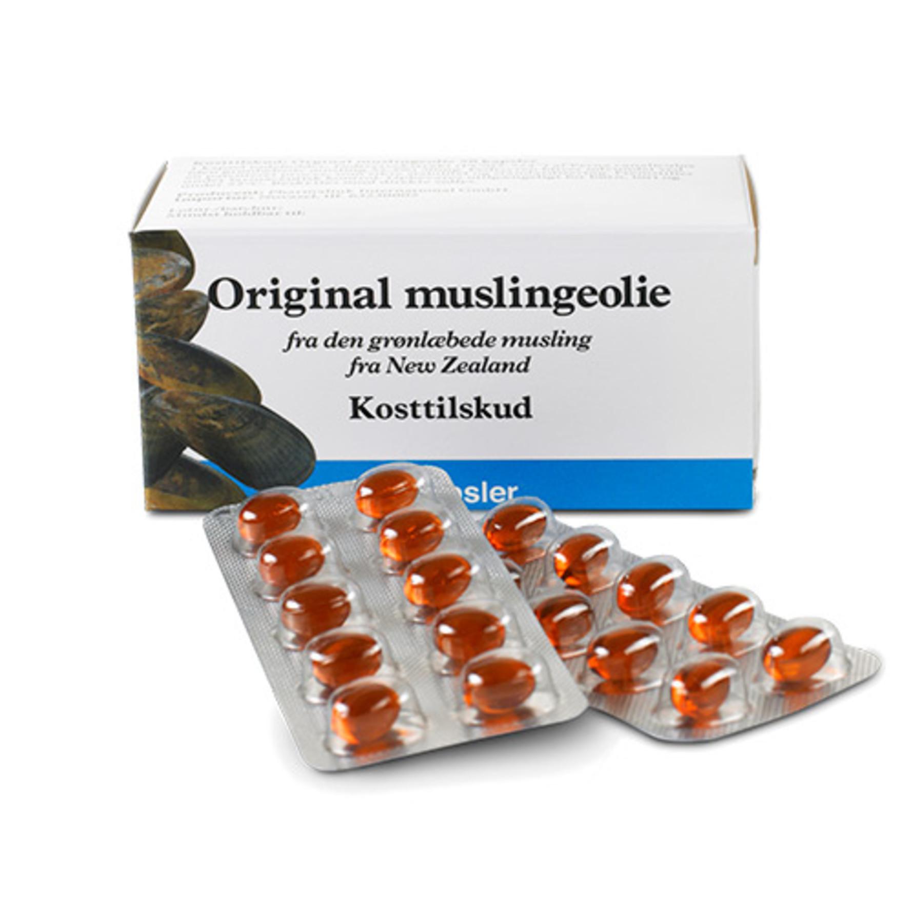 Flot Muslingeolie original (grønlæbede) 50 kap PZ-14