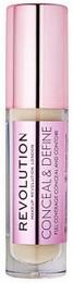 Makeup Revolution Conceal and Define Concealer C4
