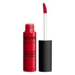 NYX PROFESSIONAL MAKEUP Soft Matte Metallic Lip Cream Monte Carlo