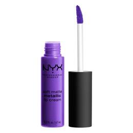 NYX PROFESSIONAL MAKEUP Soft Matte Metallic Lip Cream Havana