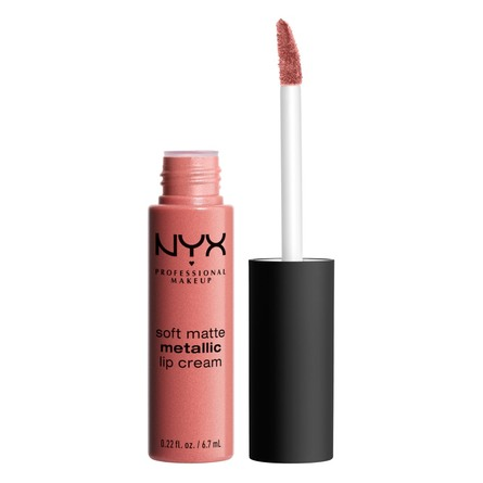 NYX PROFESSIONAL MAKEUP Soft Matte Metallic Lip Cream Cannes