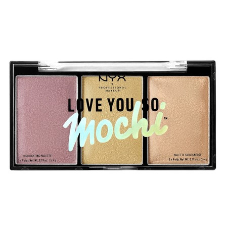 NYX PROFESSIONAL MAKEUP NYX PROF. MAKEUP Love You So Mochi Highlighting Pa LYSMHP01 LIT LFE